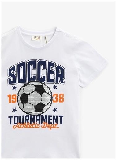 Koton Koton T-Shirt Beyaz